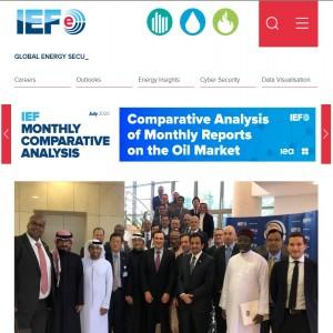 الدليل العربي-مواقع منتديات-منتدا اقتصادي-International Energy Forum